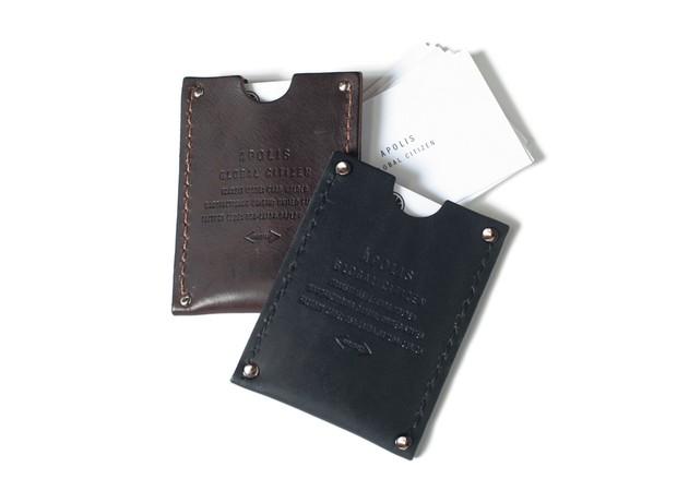 leather card holder - apolis