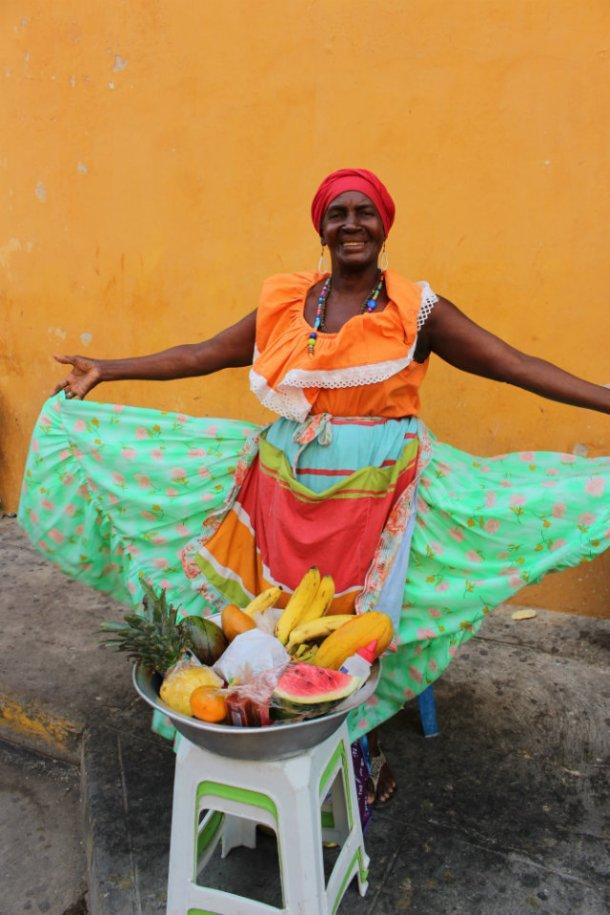 Cartagena Fruit Princess