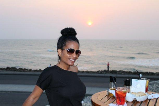 Cartagena Sunset at Cafe Del Mar