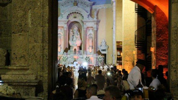 Cartagena Cathedral Wedding