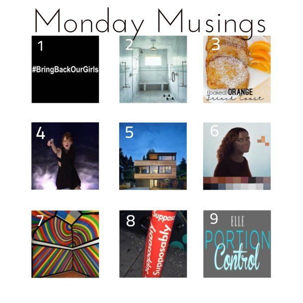 monday musings 5-5-14